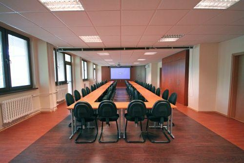 Конференц-зал для занятий и просмотра фильмов