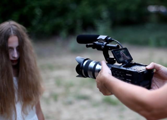 Кинолагерь Шопорня 2016 - идут съёмки фильма
